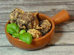 Tapas - knusprige Fleischbällchen mit Datteln und Nüssen - Katha-kocht!