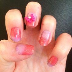 2 toned nails.