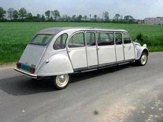 Citroen 2CV Limousin, stretched 2CV. v@e.