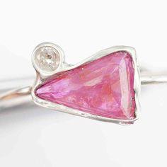 Rubin Diamant Ring