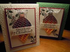 Embellished Ornaments stamp set & Delicate Ornaments Thinlits dies - Stampin' Up