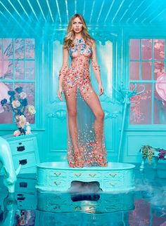 Abbey Clancy dons gown for Britain's Next Top Model promo | Daily Mail Online