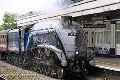 2009-05-25-009 v1 (wm) Steam Locomotive Sir Nigel Gresley running fairly light @ Maidenhead