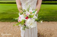 Bridal Flowers - by The Photography Team #Bridal flowers shot from a recent #wedding shoot, love the colours and the composition. <br> For more information, please see our website: www.thephotographyteam.co.uk