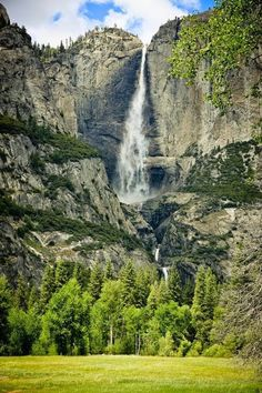 The Majestic Falls of Yosemite National Park