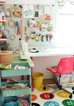 A Sort Of Fairytale: The One About My Craft Room...