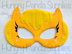 Pretty Pony Mask Embroidery Design, my little pony embroidery, in the hoop design