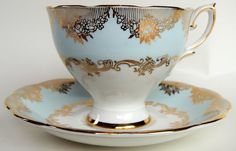 Addition to VictorianHighTea.com Collection: Royal Standard Fine Bone China Tea Cup and Saucer Set