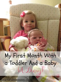 My first month with a baby and a toddler - a diary. When my second baby was born, I kept a diary for a little while. It was nothing in depth, just a few sentences about my day, what happened and how I felt.