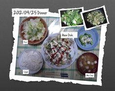 For Dinner on 25/Sep/2012