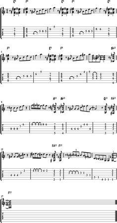 arpeggio exercises guitar tab pdf