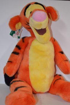 "Disney Store Tigger Plush 20"" Pooh and Friends Stuffed Animal Very Soft New Tags #Disney $39.99"