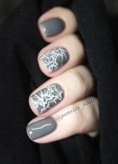 stamping nail art TU4