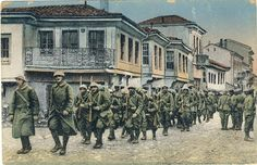 WWI; French Army enters Bitola (Monastir), 19 Nov 1916.