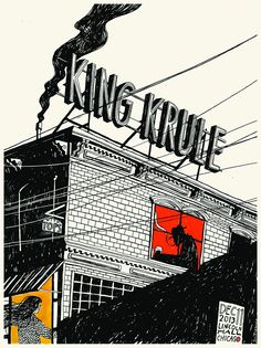 Gig poster of the week: King Krule on the rooftops
