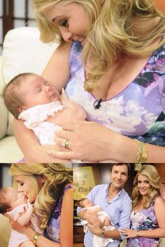 Daphne Oz from the Chew daughter Philomena Celebritys babies and