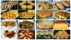 Menú de Navidad 3. Elabora tu propio menú combinado estas 20 recetas. Encontrarás entrantes, primeros y segundos platos y postres.