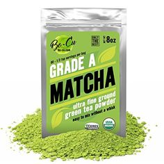 80 Servings, Best Organic Matcha Green Tea Powder for Drinking, Baking & Smoothies, EASIEST TO MIX No Matcha Whisk Needed Natural Instant Tea Concentration Supplement, Calm Energy Booster Grade A 8oz *** For more information, visit image link.