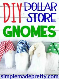 gnomes diy how to make no sew / gnomes diy how to make . gnomes diy how to make from socks . gnomes diy how to make pattern . gnomes diy how to make no sew Dollar Tree Fall, Dollar Tree Crafts, Dollar Tree Store, Dollar Stores, Selling Crochet, Gnome Tutorial, Gnome Ornaments, Christmas Gnome, Christmas Ideas