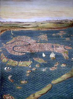 Mapa de Venecia, siglo XVI