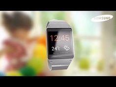 Samsung Galaxy Gear - Présentation - YouTube