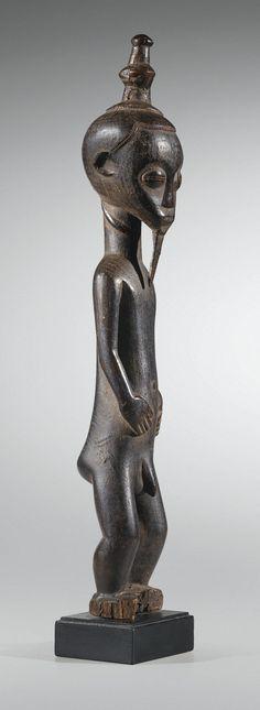 Statue, Baulé, Côte d'Ivoire | Lot | Sotheby's