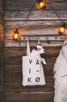 Spell it Out Canvas Bag tote cotton bag by VAI-KØ. Native print, black and white. Ethically made from recycled cotton. Cutest Jrt puppy in a bag. All Dogs, I Love Dogs, Best Dogs, Dogs 101, White Terrier, Bull Terrier Dog, Jack Russell Terrier, Family Dogs, Cotton Bag