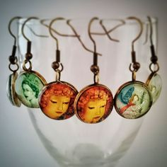 Browse unique items from CraftbyClara on Etsy, a global marketplace of handmade, vintage and creative goods. Handmade Crafts, Drop Earrings, Unique, Creative, Etsy, Vintage, Jewelry, Jewellery Making, Jewelery