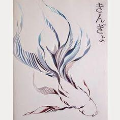 美大受験日記・芸術大学受験作品集: 色彩構成作品:きんぎょ高校3年 China Art, Abstract, Artwork, Naver, Design, Homework, Graphics, Animal, Summary