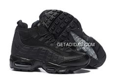 sports shoes 23096 161ee Nike Air Max 95 Sneakerboot All Black Grey TopDeals, Price   87.14 - Adidas  Shoes,Adidas Nmd,Superstar,Originals