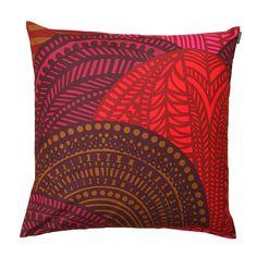 Vuorilaakso Cushion Cover 50x50 cm, Red £24. - RoyalDesign.co.uk