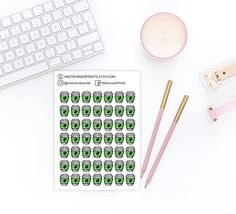 Coffee cup icon decorative planner stickers: coffee mug Green Coffee Cups, Cute Coffee Cups, Erin Condren Life Planner, Weekly Planner, Coffee Cup Icon, Mini Hands, Happy Planner, Planner Stickers, Mugs