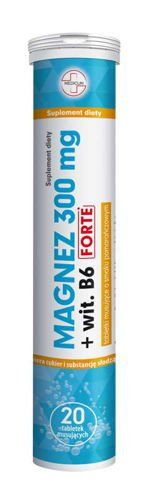 Magnesium 300  wit. B6 Forte x 20 effervescent tablets
