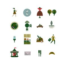 Saved by Sascha Elmers (saschaelmers). Discover more of the best Icons, Symbols, Pictograms, Eurostar, and Lotta inspiration on Designspiration Lotta Nieminen, Retro Illustration, Illustrations, Retro Color, Pictogram, Graphic Design Art, Vector Design, Icon Design, Drawings