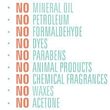 Arbonne products contain none of these items. We have a huge product line of anti-aging, skin and hair care, beauty and nutrition products for all your family.  Check it out at www.arbonne.com ID#13987065!