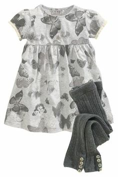 Dress And Tights Set (3mths-6yrs)