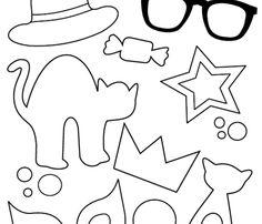 Billedresultat for fastelavns skabeloner Die Hard, Angry Birds, Diy Halloween, Branches, Art For Kids, Hello Kitty, Diy Crafts, Posts, Window
