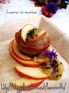 Tortini al farro con mele e zenzero