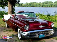 1957 Oldmobile 88 Convertible..