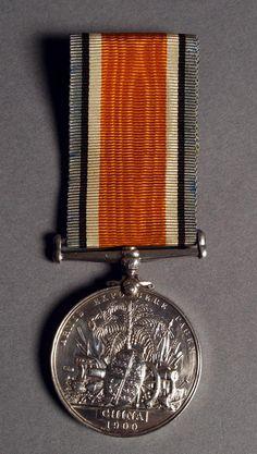 British Boxer Rebellion Medal