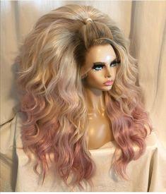 Drag Queen Makeup, Drag Makeup, Hair Makeup, Retro Hairstyles, Wig Hairstyles, High Fashion Hair, Drag Wigs, Avant Garde Hair, Singing Career