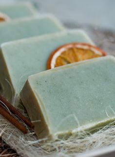 Alga-eukaliptusz szappan/Alga-eucalyptus soap