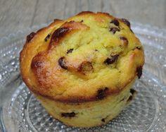 Muffins aux bananes, amandes et pépites de chocolat