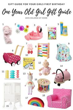 Shopping For Your Own One Year Old Or Buying A First Birthday Gift Another