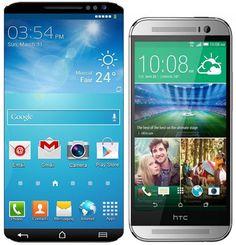 Samsung-galaxy-S5-vs.-HTC-H Samsung galaxy S6 vs. HTC Hima (HTC M9)