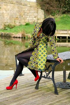 ***Try Hair Trigger Growth Elixir*** ========================= {Grow Lust Worthy Hair FASTER Naturally with Hair Trigger} ========================= Go To: www.HairTriggerr.com ========================= This Ankara Print Trench Coat Is So Hot and Sexy!!!!!
