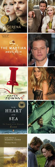 Books to read before they hit theaters in 2015!