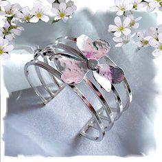 Purple Spice Jewellery - Four bar bracelet