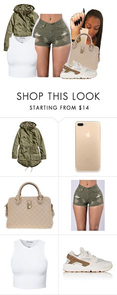 """""""catch✊🏽"""" by miss-hollyhood ❤ liked on Polyvore featuring H&M, Marc Jacobs, Estradeur and NIKE"""