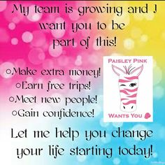 4 Reasons to Join Pink Zebra TODAY! Email me at Hellosprinkles1@yahoo.com